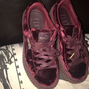best website 0b138 b105b Rihanna Fetty Velvet Puma Creepers #rihanna #fenty